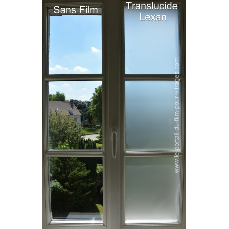 Translucide Lexan 75 microns Sur-mesure