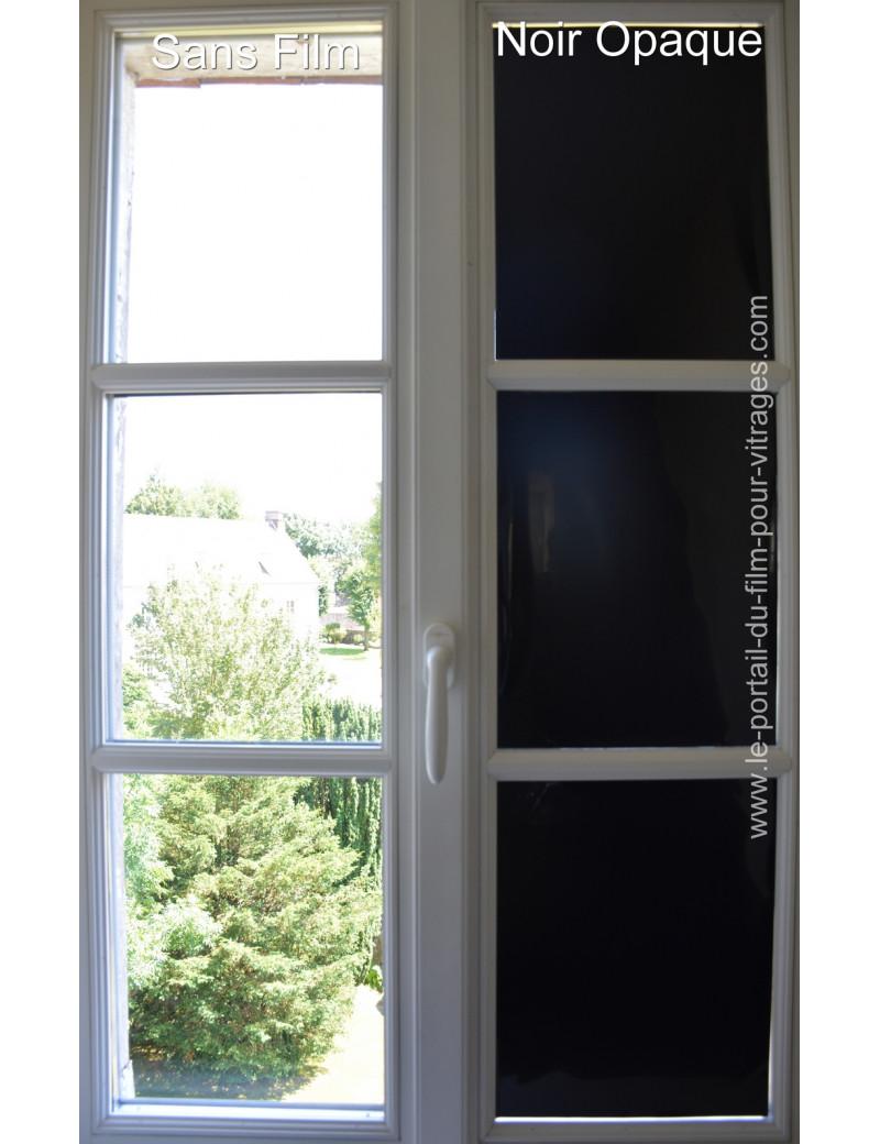 Noir Opaque  Solargard St Gobain Black opaque