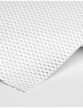 Microperforé Blanc repositionnable