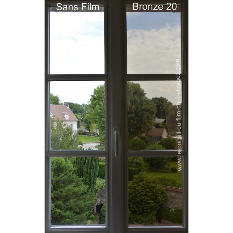 Bronze 20 - Film Métallisé efficace effet bronze
