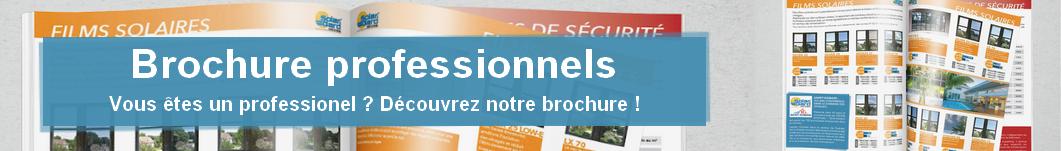 Brochure pour professionnels