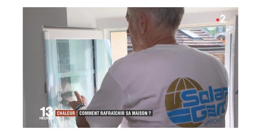 Notre Apparition sur France 2 : JT du 26/07 - Solutions contre la canicule